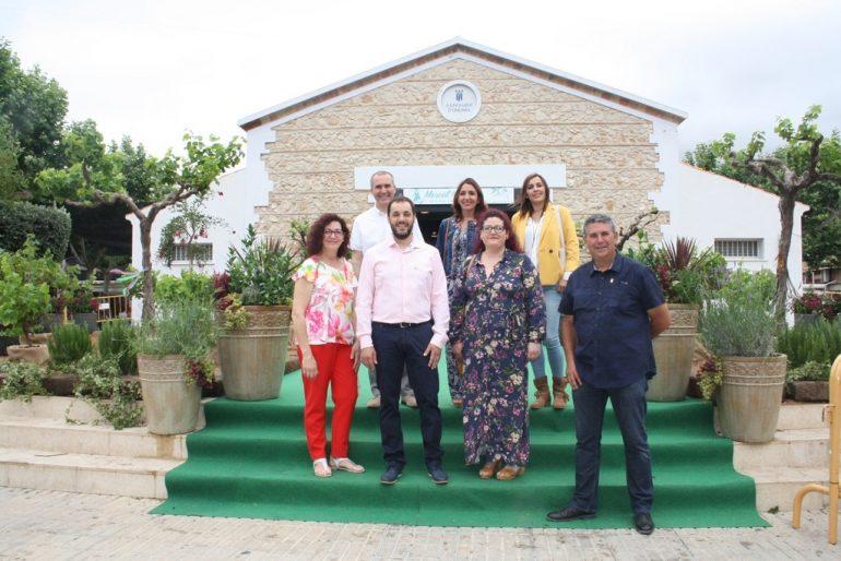 Corporació municipal d'Ondara en la inauguració