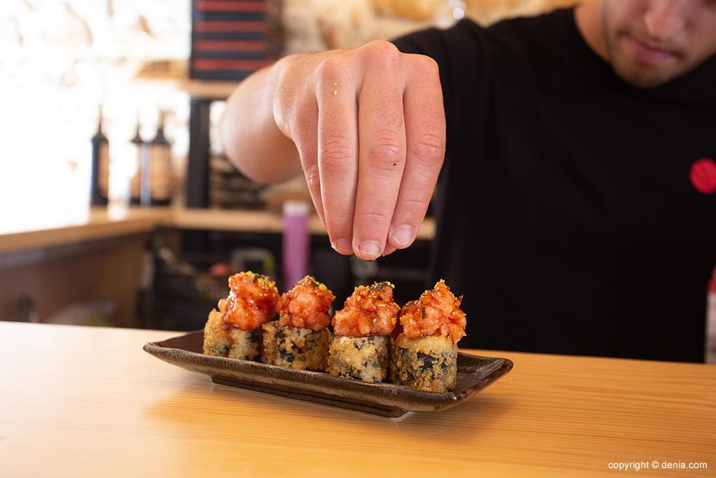 Delicioso sushi – Taberna Sushiber
