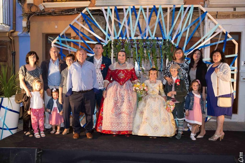 Família Mahiques al Nomenament de Baix la Mar