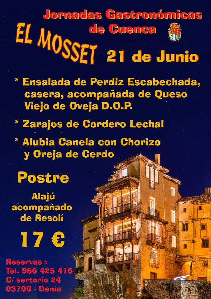 Jornadas Gastronomicas El Mosset