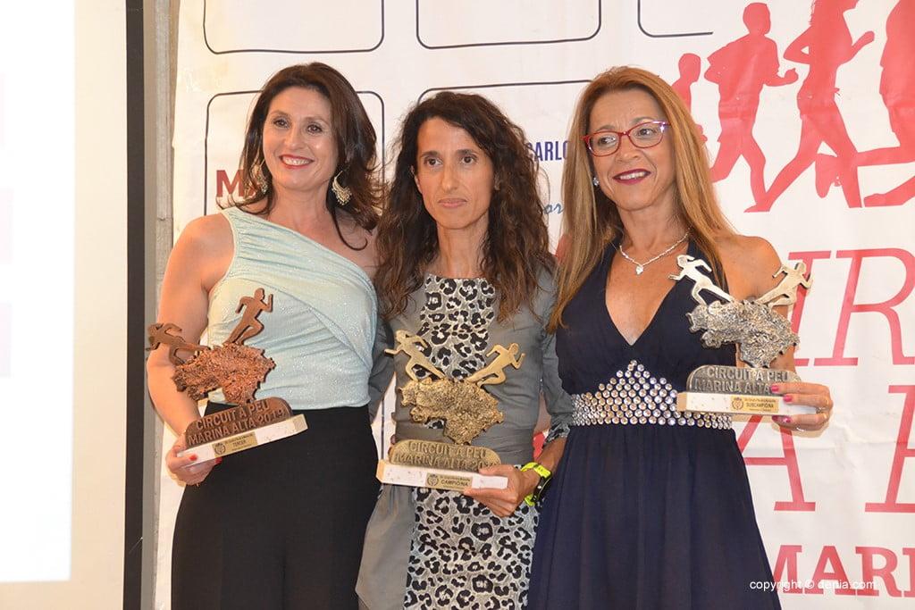 Maria Mulet, Consuelo Alemany i Violeta Gómez