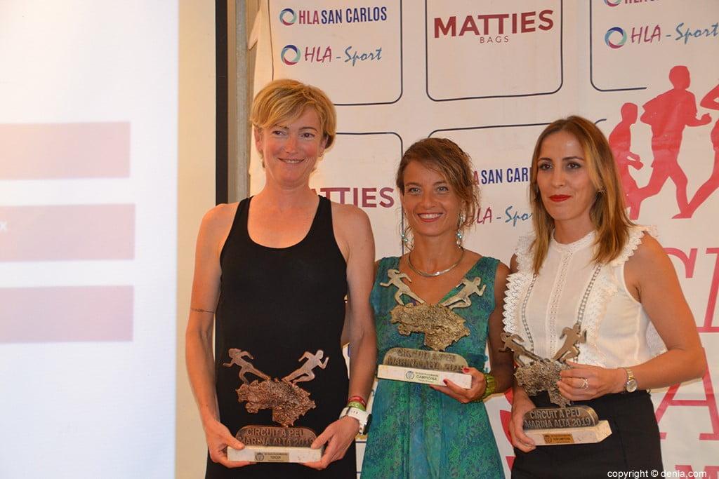 Marta Ortego, Carol Frasquet i Encarna Cardona