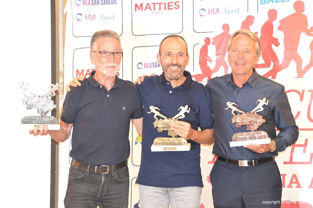 Salvador Signes, José Antonio Vera i Jord Straufm.
