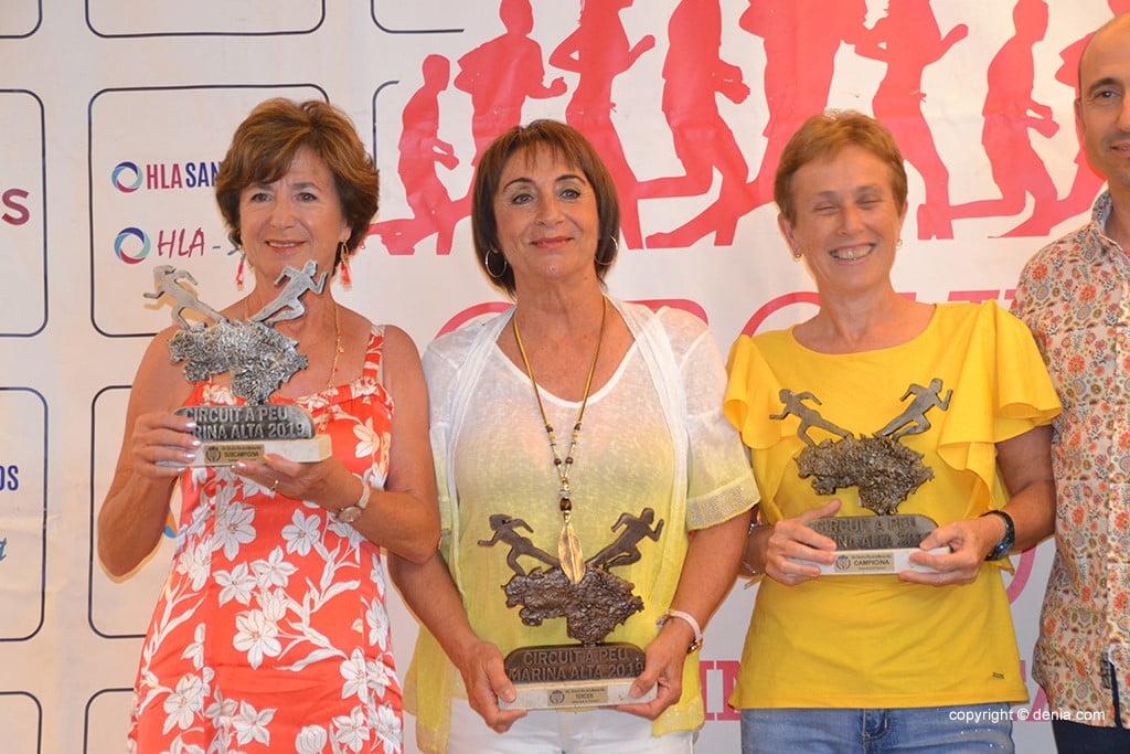 Sylvia Berger, Sole Martínez i Maria vicente