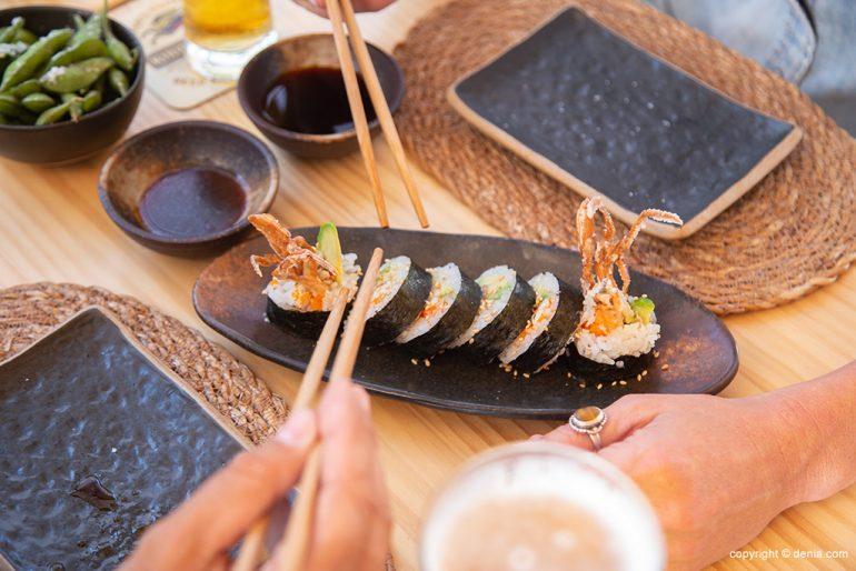 Taberna Sushiber - comer sushi en Dénia