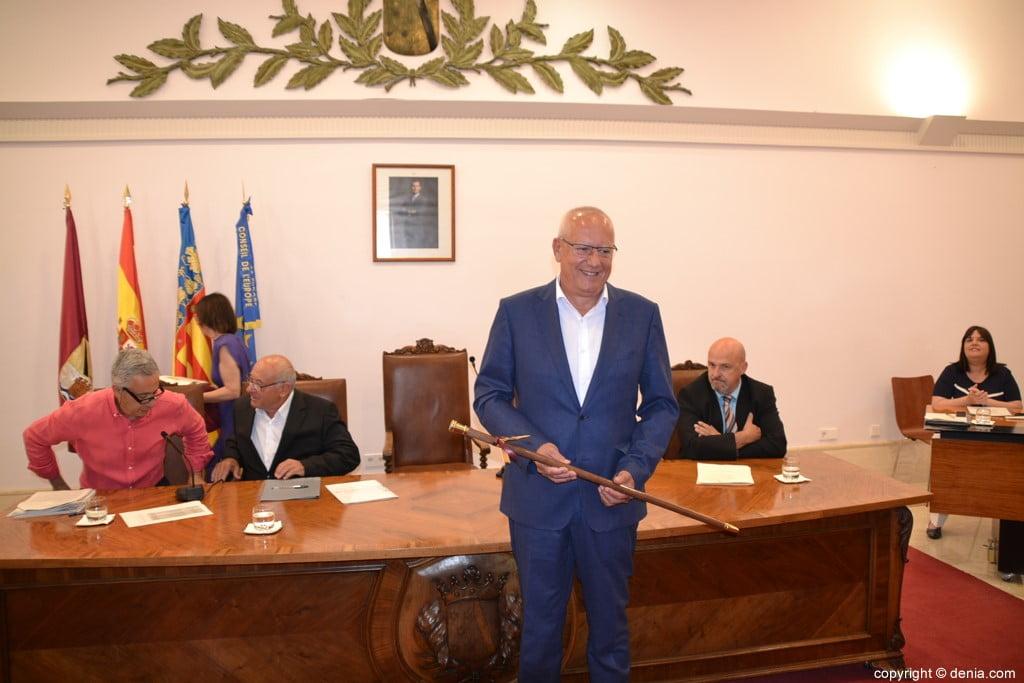 Vicent Grimalt wordt verkozen tot burgemeester van Dénia