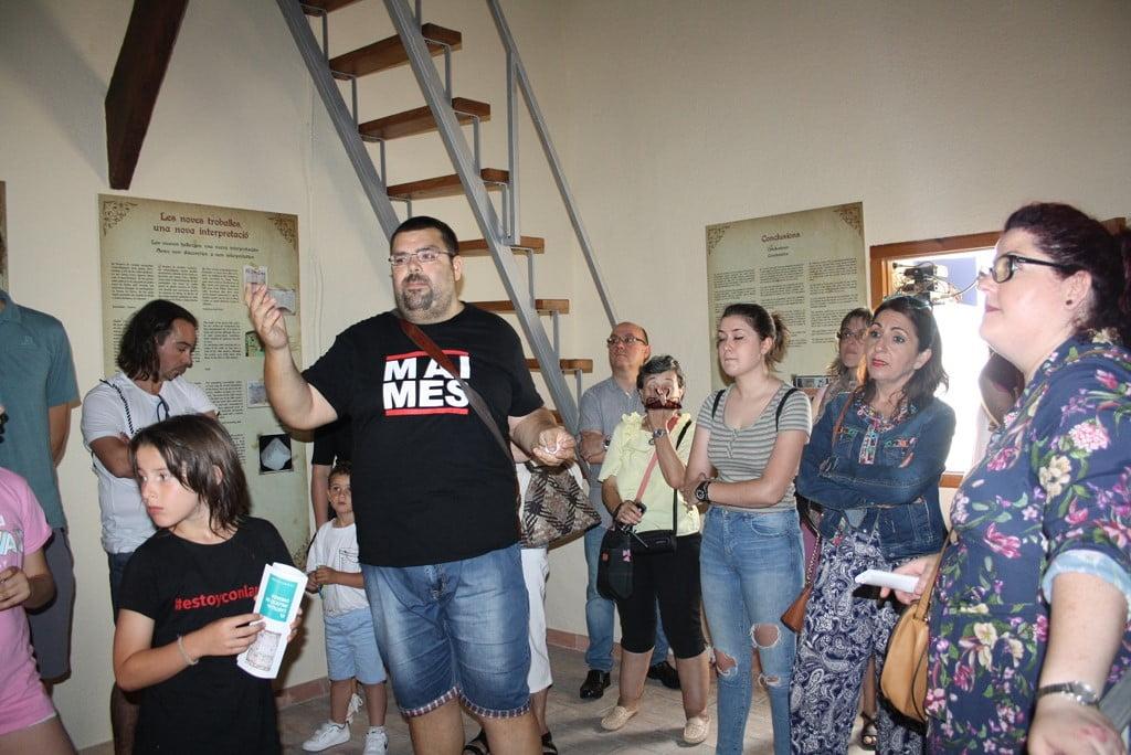 Visita a la Torre del Rellotge d'Ondara