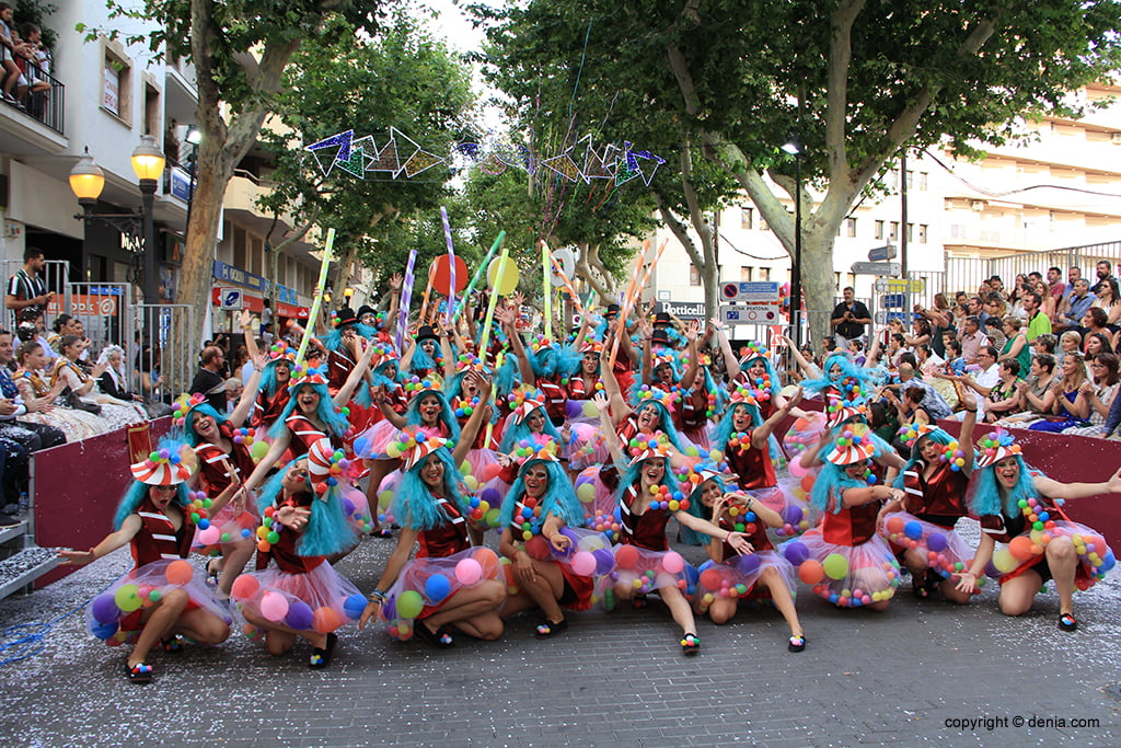Floats Dénia 2019 - Baix la Mar