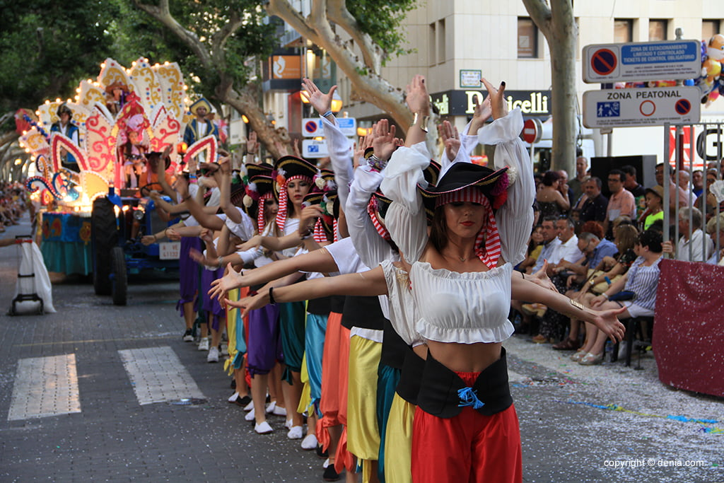 Carrosses Dénia 2019 - Centre