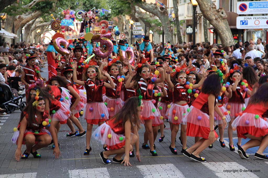 Carrosses Dénia 2019 - Falla Baix la Mar