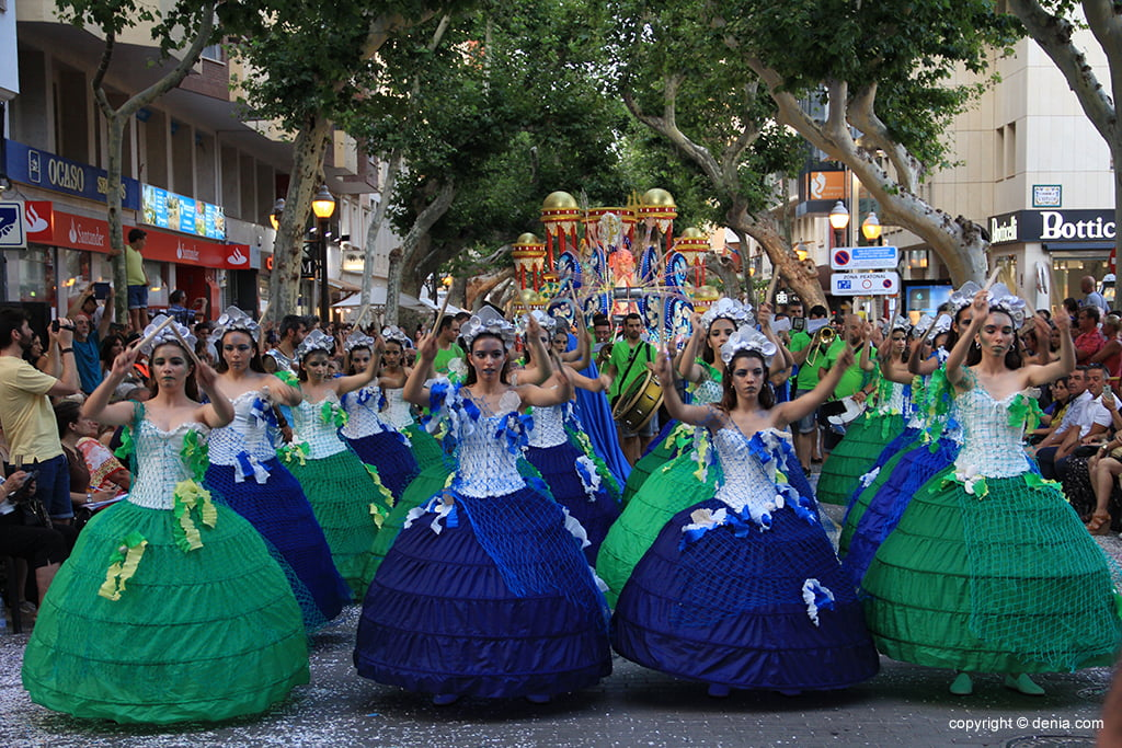 Carrosses Dénia 2019 - Falla Campaments