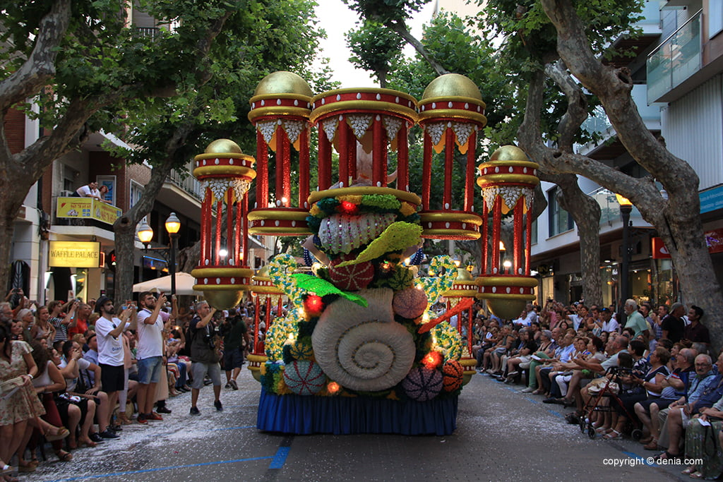 Carrosses Dénia 2019. - Falla Campaments