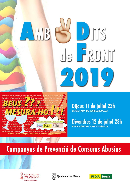 Manifesto della campagna di prevenzione Amb Dos Dits