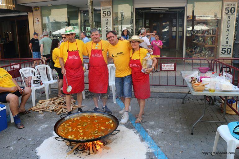 Concurso de paellas Fiestas 2019 - Falla Darrere del Castell