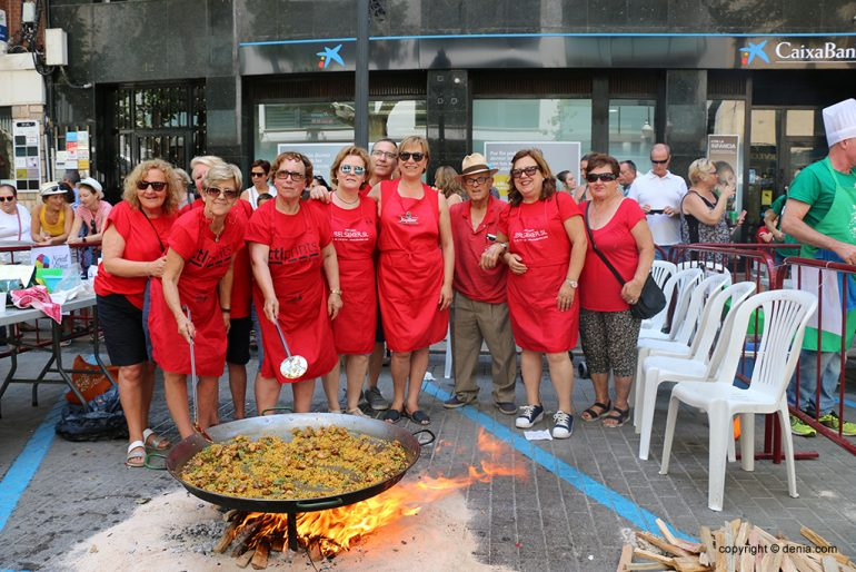 Concurso de paellas Fiestas 2019 - Falla París Pedrera
