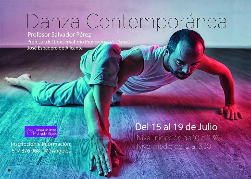 Curso Danza Contemporánea – Escola de Dansa Mª Ángeles Signes