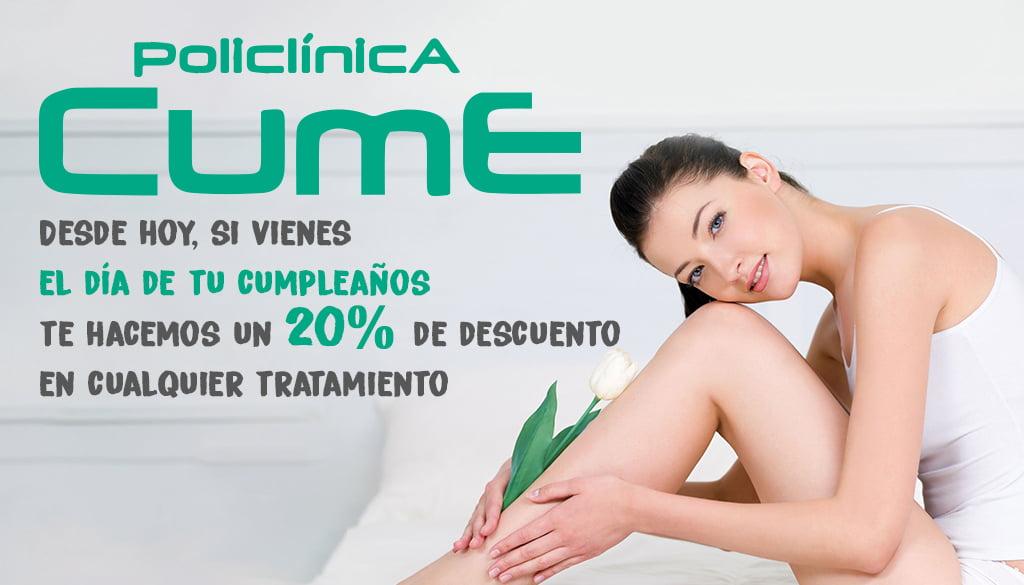 Birthday discount - Policlinica CUME