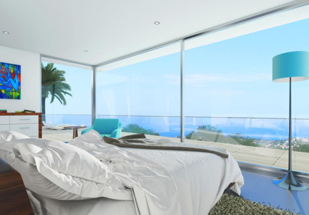 Dormitorio vivienda Casa Natalia – Lucas Graf Projects