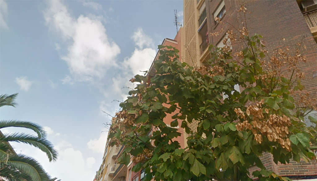 Edifici on ha ocorregut l'agressió