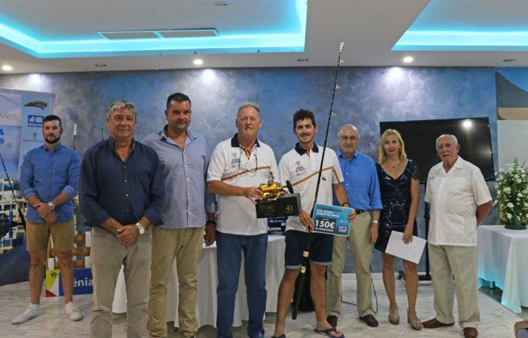 Entrega del primer premio del Trofeo Ciudad de Dénia
