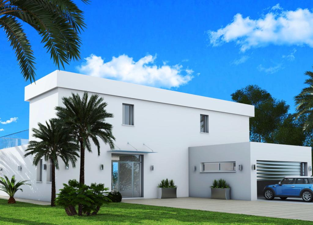 Exterior vivienda Casa Natalia – Lucas Graf Projects