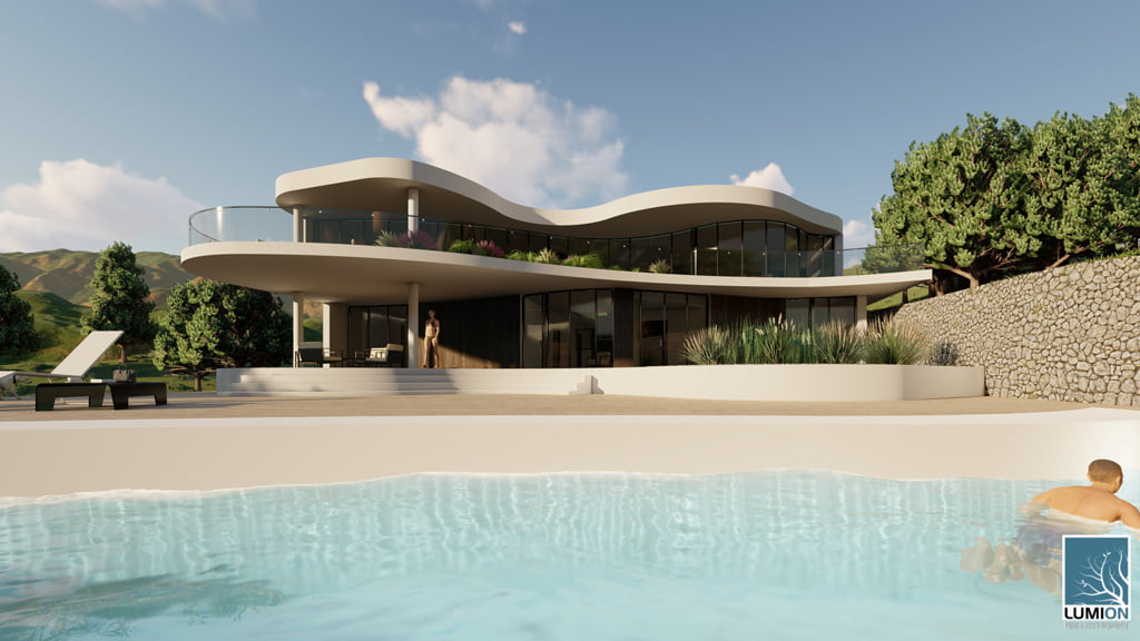 Exterior vivienda GV Arquitecnia