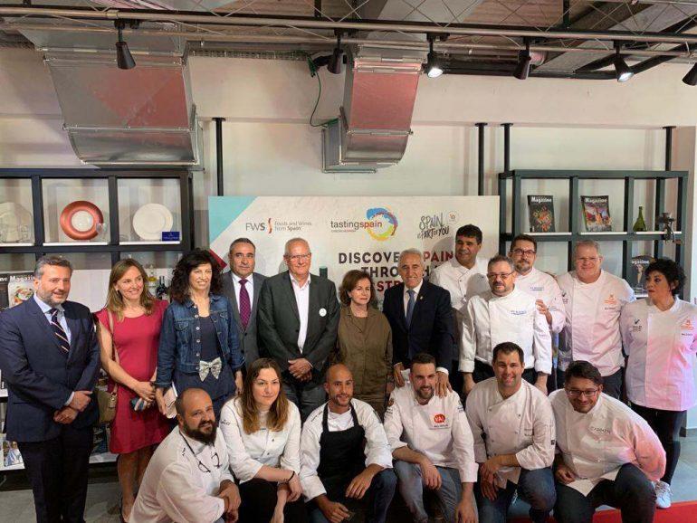 Grimalt i Aehtma visiten Brussel·les pel Dia Mundial de la Tapa