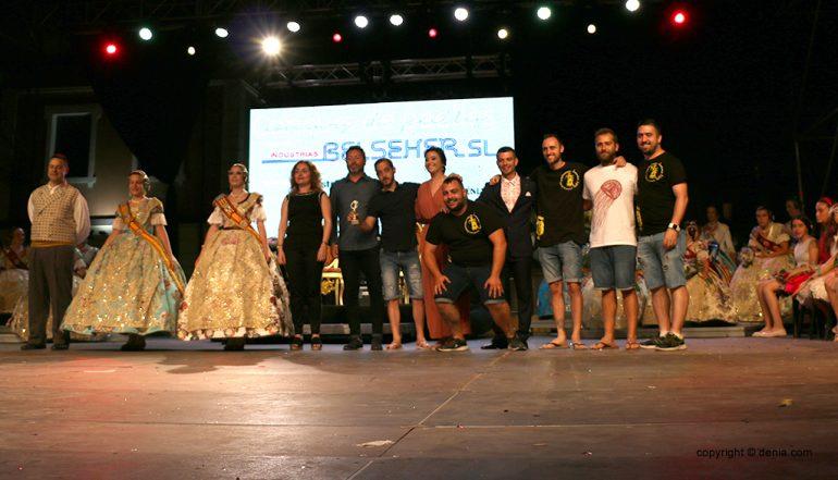 La Falla Diana gewinnt den Paella-Wettbewerb