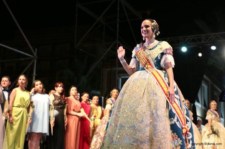 Marina Civera, Fallera Mayor de València, presente all'evento Fallero Day