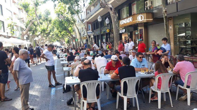 Partidas de ajedrez en Marqués de Campo