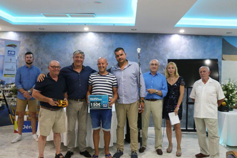 Premio a la pieza mayor en el Trofeo Ciudad de Dénia