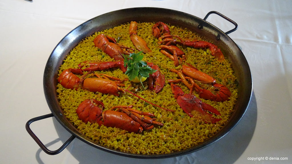 Menú barat arròs - Restaurant L'anfora Dénia