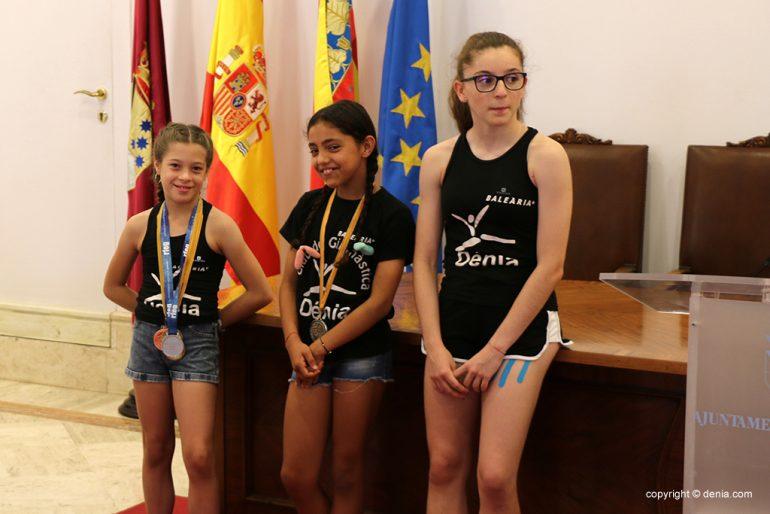 Subcampeona de España de Mazas alevín