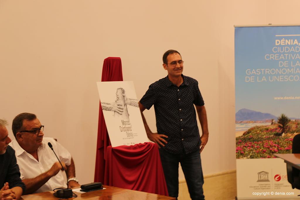 Toni Ortolà entwirft das Plakat der Mauren und Christen 2019