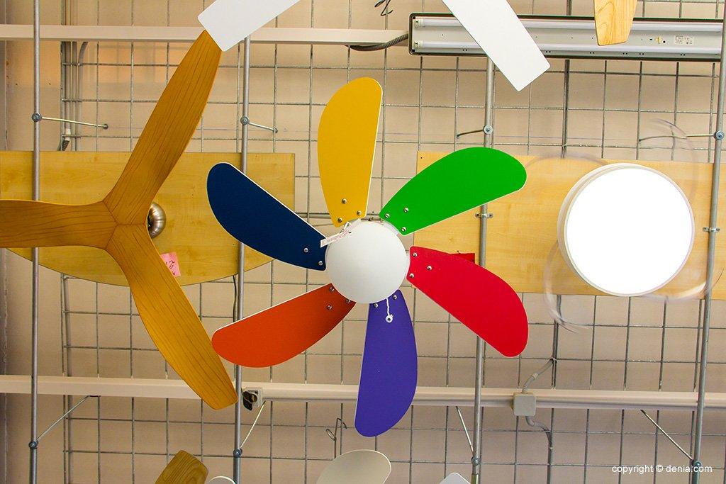 Ventilador colors Vimaluz