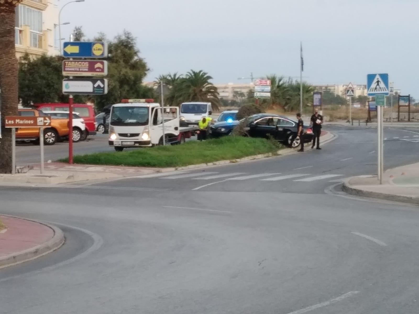 Incidente di fronte a Punta del Raset