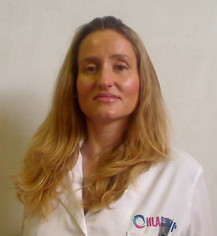 Almudena Monteagudo dermatóloga HLA San Carlos Dénia