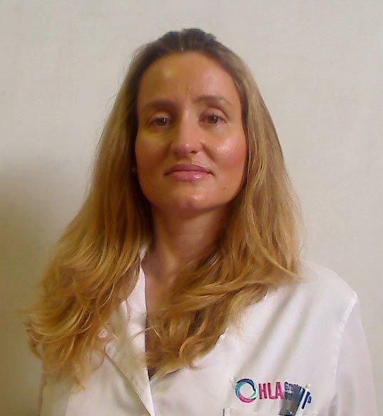 Almudena Monteagudo dermatóloga HLA San Carlos