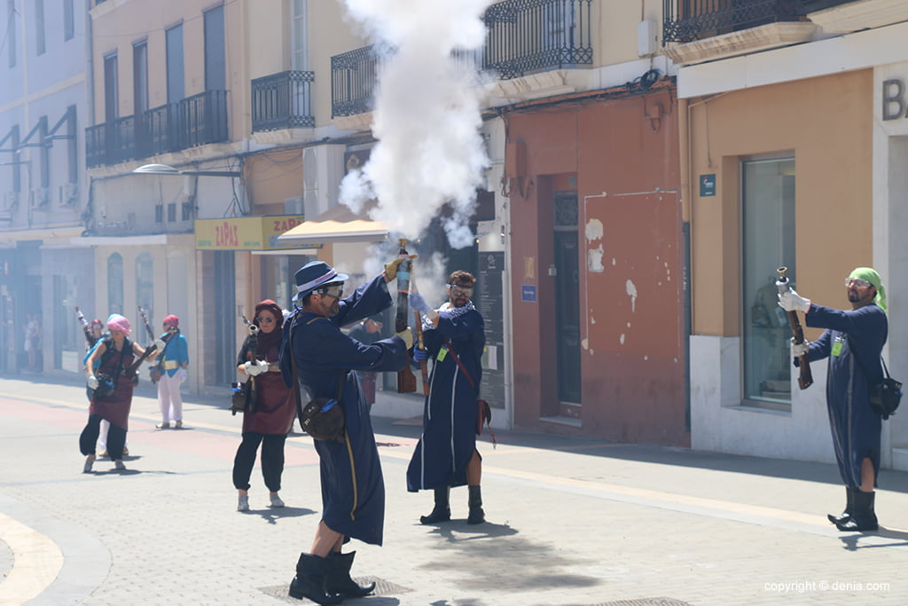 Schlacht von Arcabucería Moros und Cristianos 19