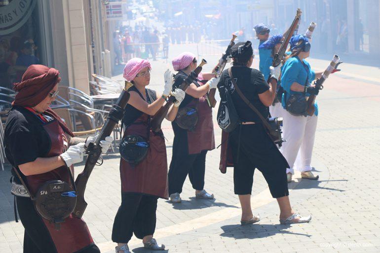 Schlacht von Arcabucería Moros und Cristianos 22