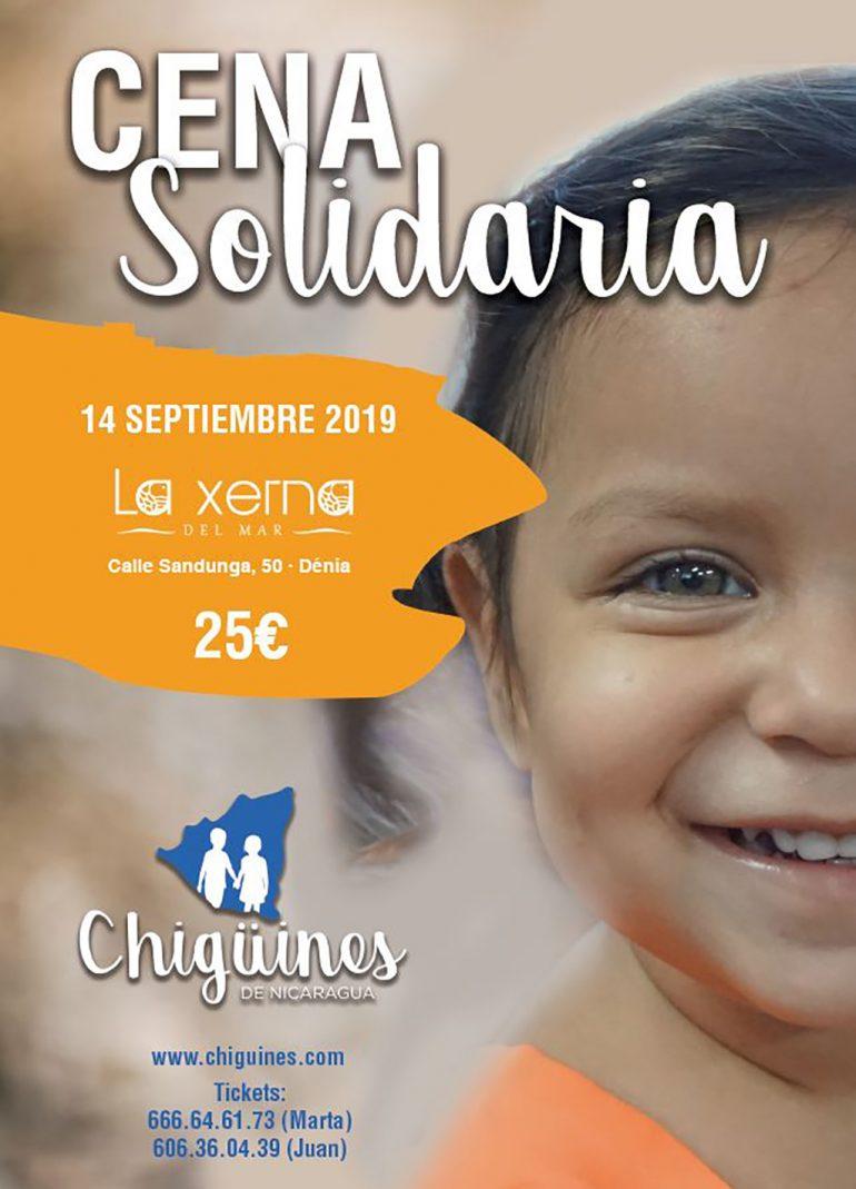 Стендовый ужин солидарности Чигуин из Никарагуа