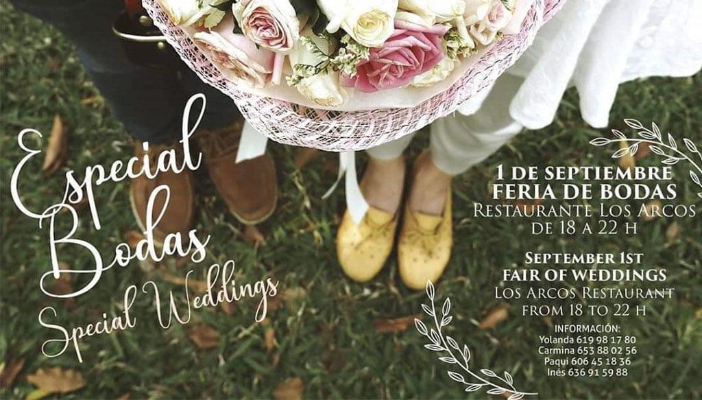 Cartel feria de bodas – Bodas y Flores
