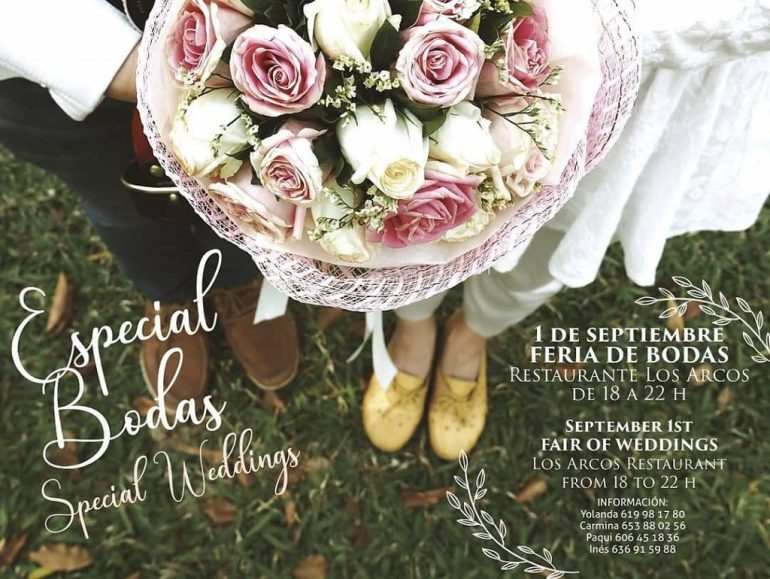 Плакат свадебной ярмарки - Свадьбы и цветы