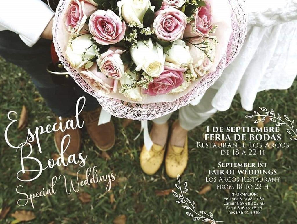 Cartel de feria de bodas – Bodas y Flores
