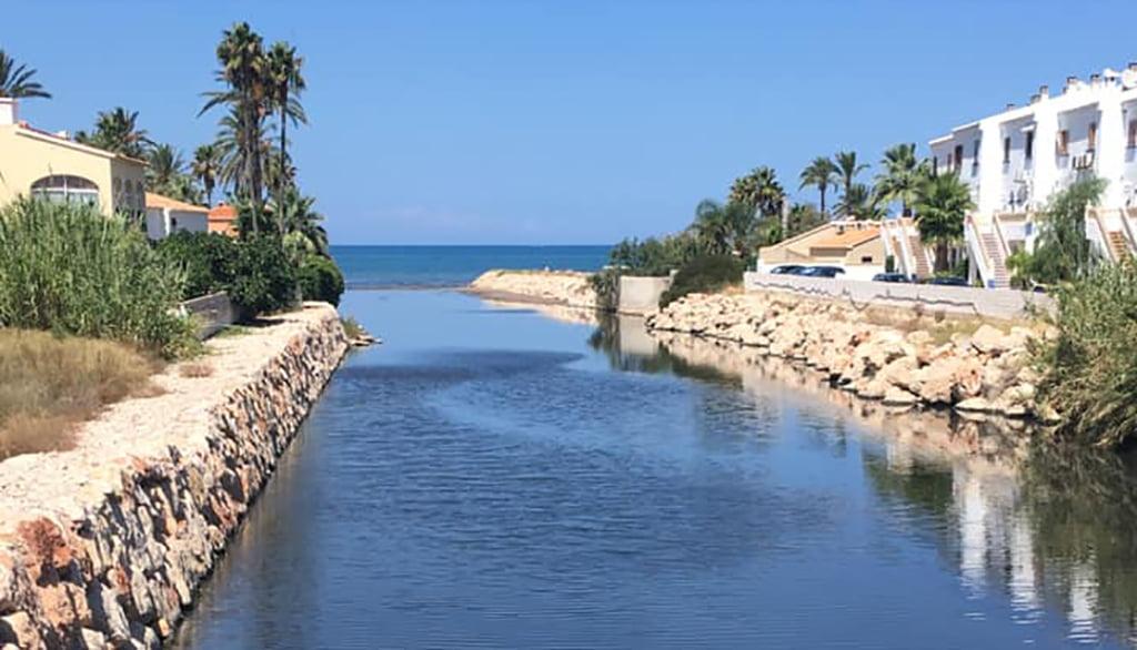 Desembocadura del río Girona