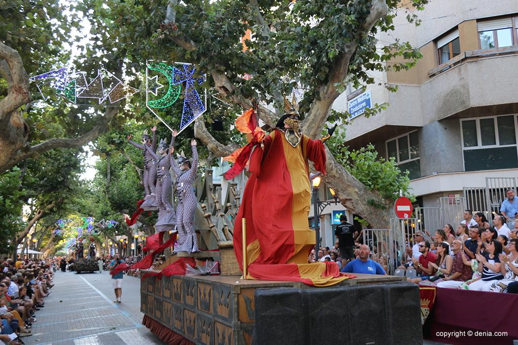 Desfile de gala de Moros y Cristianos 2019 57