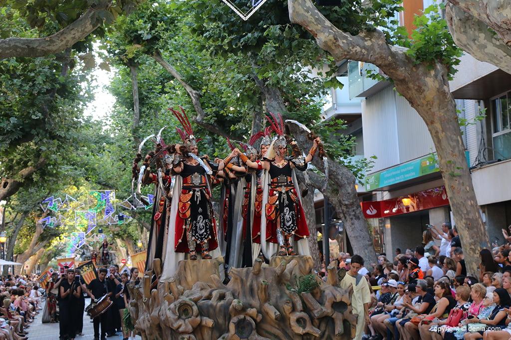 Desfile de gala de Moros y Cristianos 2019 58