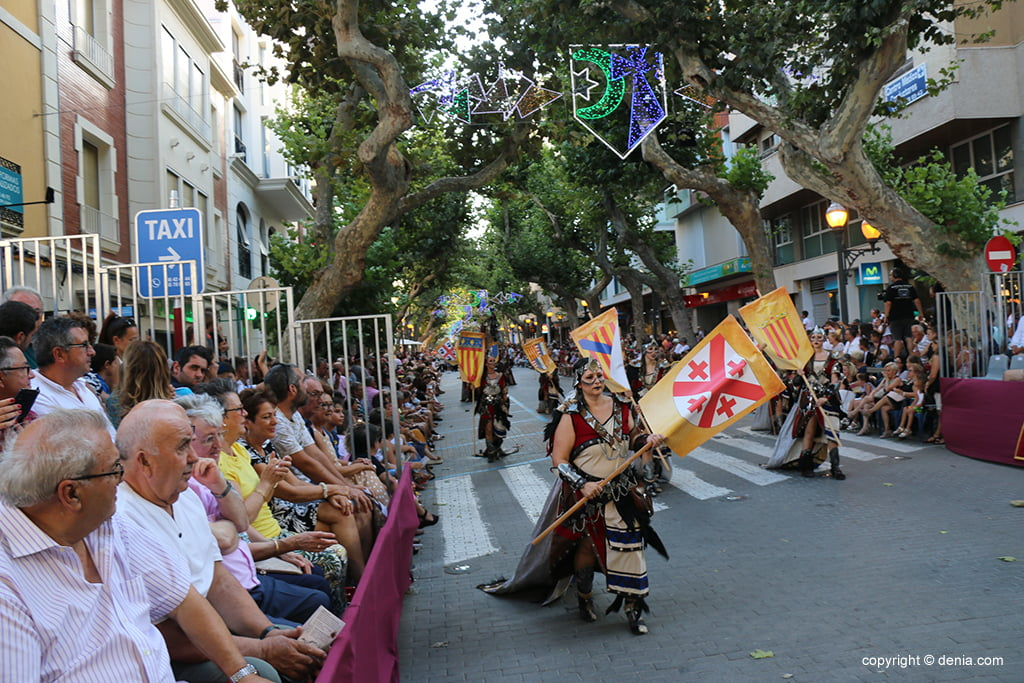 Desfile de gala de Moros y Cristianos 2019 62