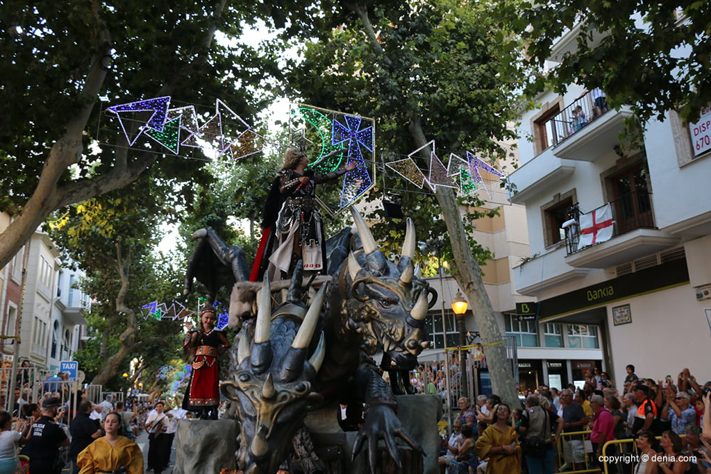 Desfile de gala de Moros y Cristianos 2019 77