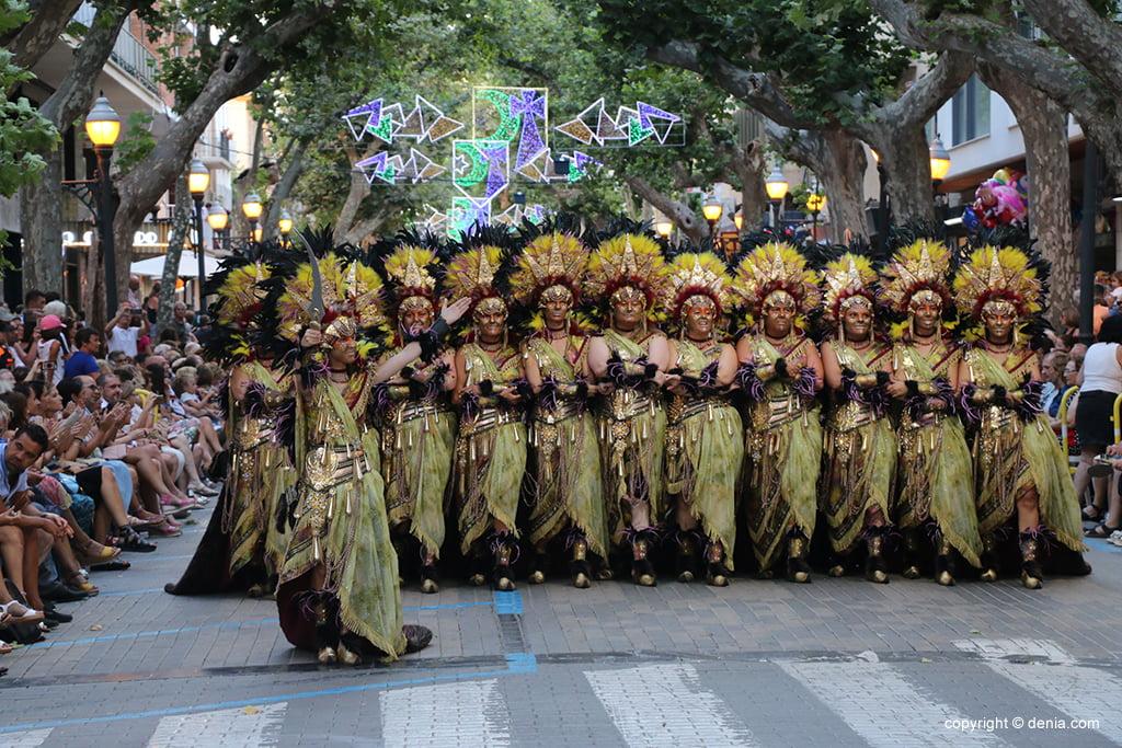 Desfile de gala de Moros y Cristianos 2019 92